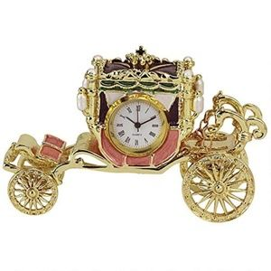 Toscano Clock Watch Baroque Carriage